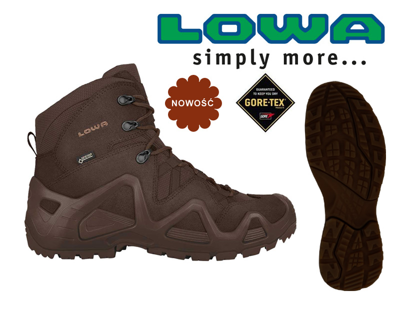 ZEPHYR Gtx MID Dark Brown